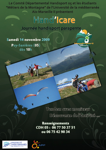 Affiche Hand'Icare